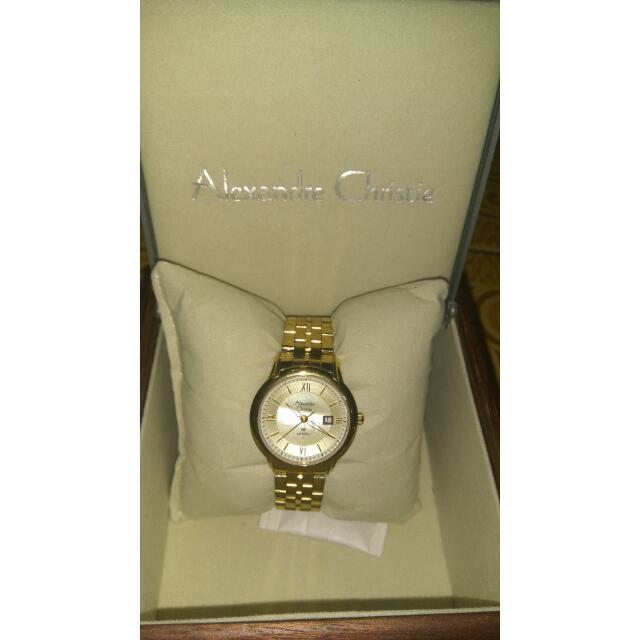 Alexandre Christie 8398 LD Gold