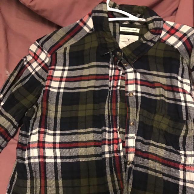 American Eagle plaid Shirt