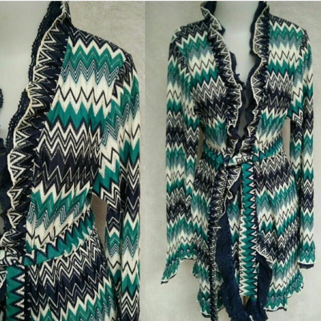 Atasan Knit Blazer