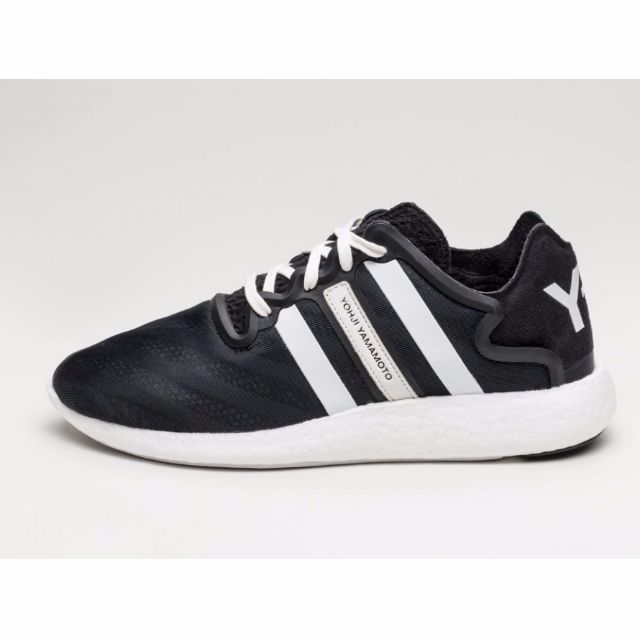 8d7960cd0a8cd Authentic ADIDAS Y-3 YOHJI RUN BOOST (Black White)