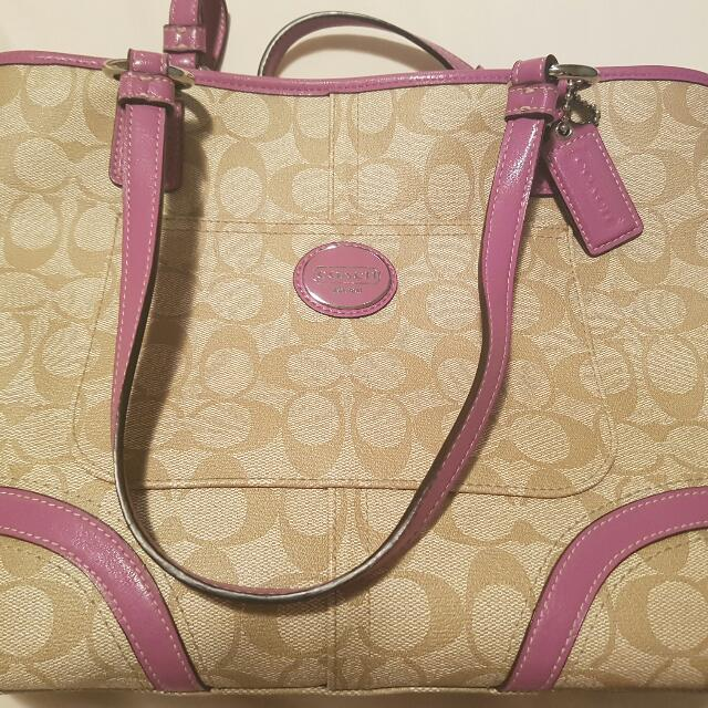 Authentic Coach Bag price reduced