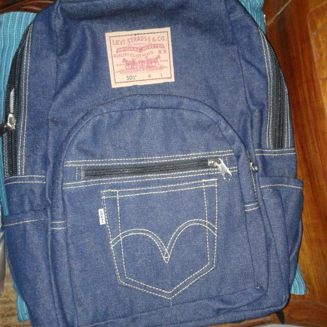 Authentic Levis Backpack