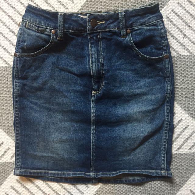 Authentic Wrangler Denim Skirt