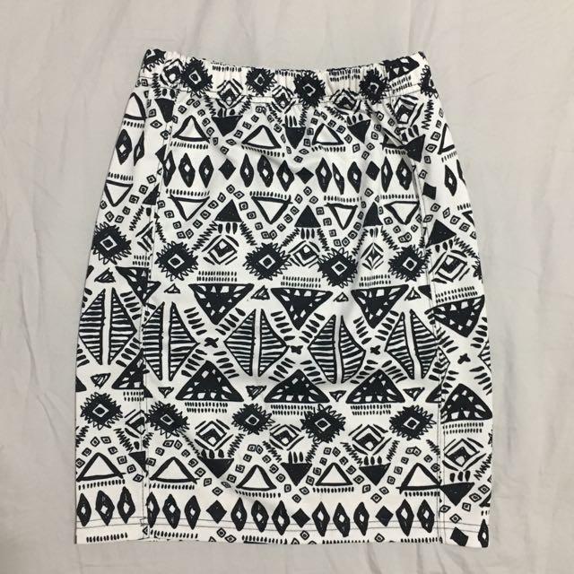 Aztec Bandage Skirt