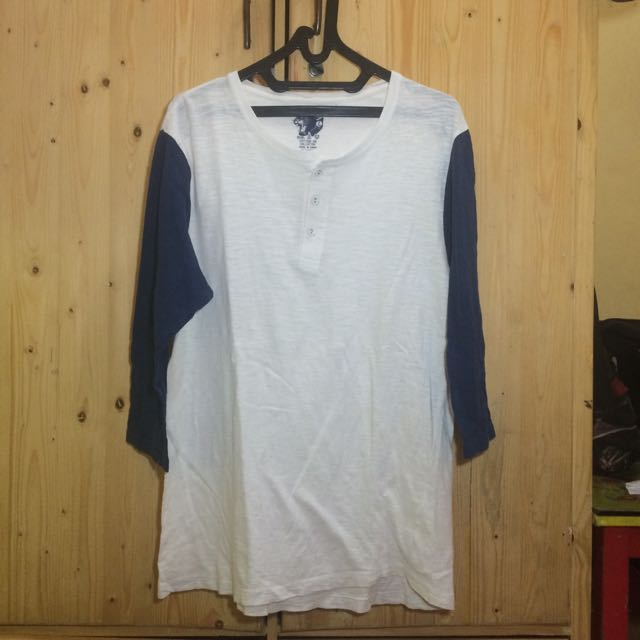 Baju/kaos Henley Cotton On REPRICE