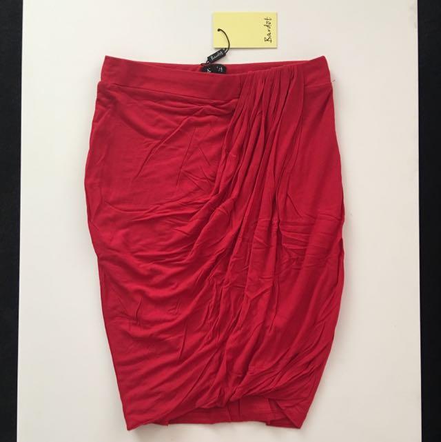 Bardot Drape Skirt