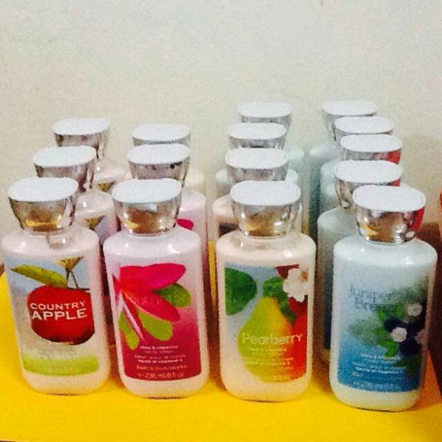 Bath And Bady Works Lotion