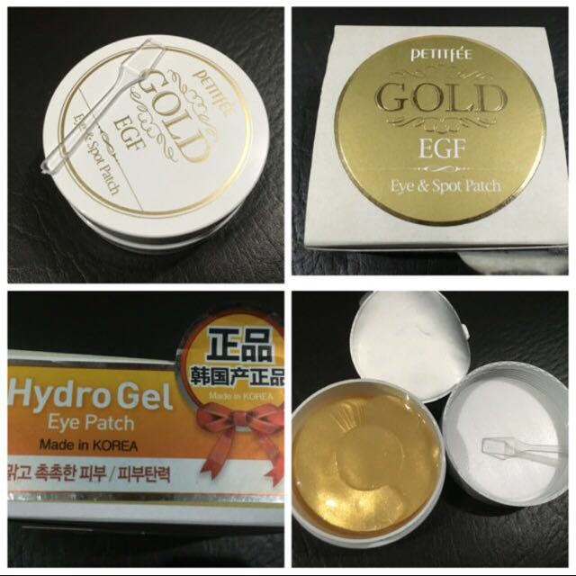 Brand New Petitfee EGF & Gold Hydrogel Eye And Spot Patch, 90 Pairs, Korean Product, Repriced P350.** P450**