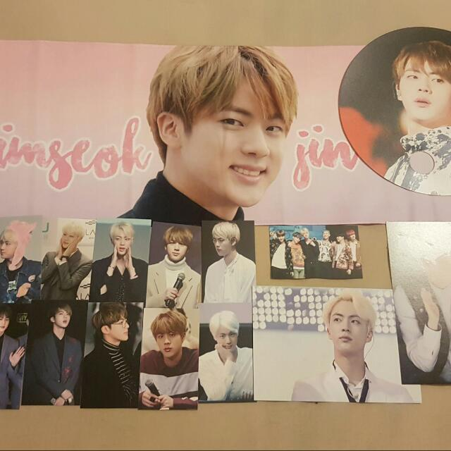 BTS JIN FANSITE PACK