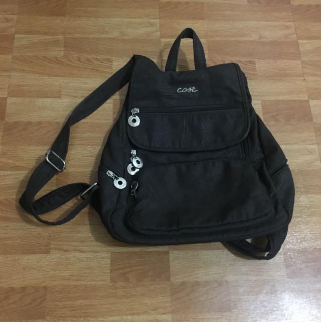 Cose Dark Brown Backpack