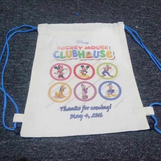 Customized Drawstring Bag