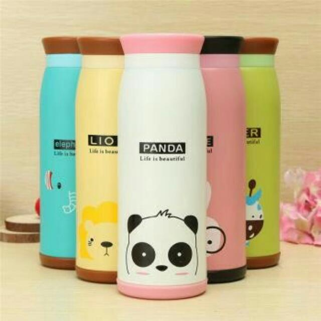 Cute Character Animal Thermos 500ml