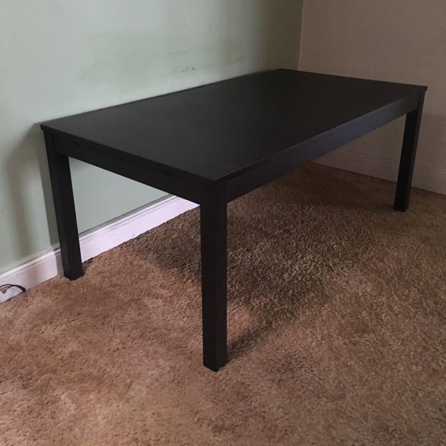 Dark Timber Dining Table