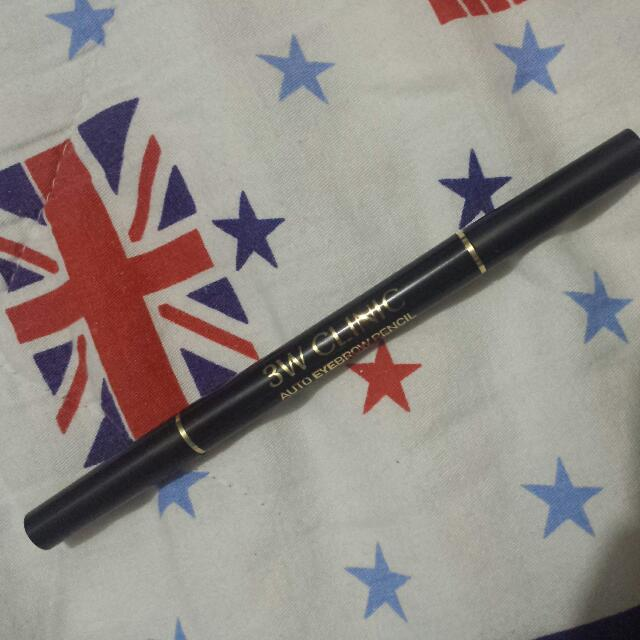 DUAL ENDED 3W CLINIC EYEBROW PENCIL (BROWN)