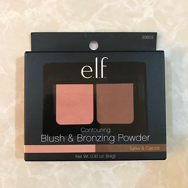 E.l.f. Blush and Bronzing Powder Turks & Caicos