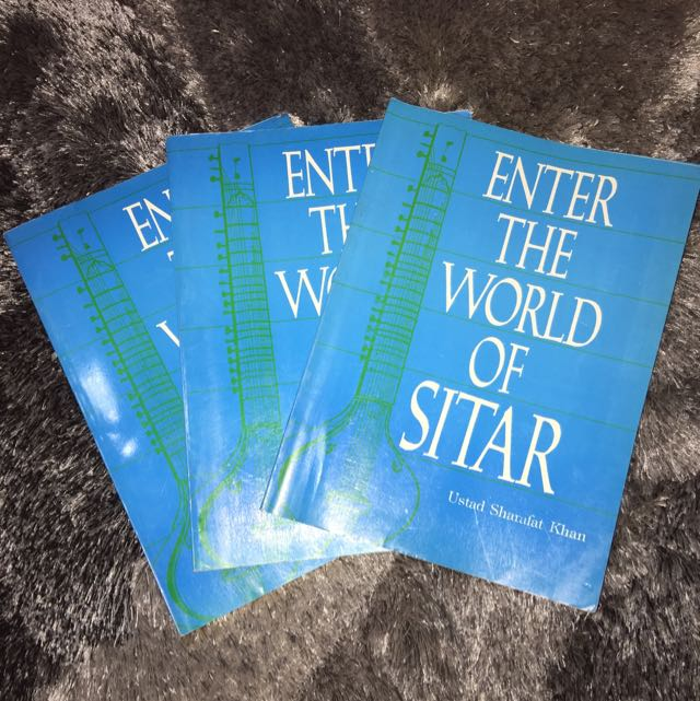 Enter The World Of Sitar Music Text Book