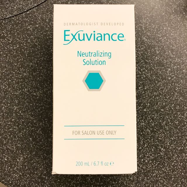 Exuviance Neutralizing Solution