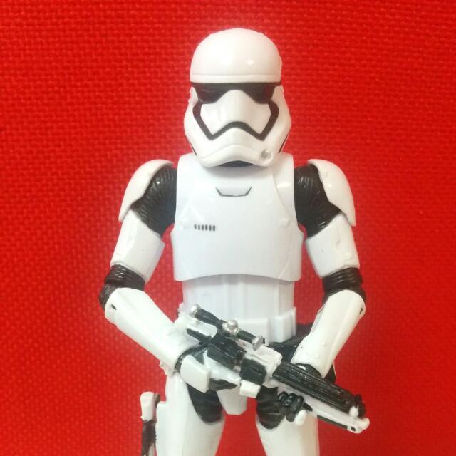 First Order Stormtrooper - Star Wars Black Series By Hasbro
