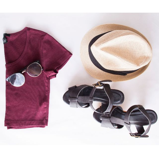 Forever 21 Size S Maroon Top