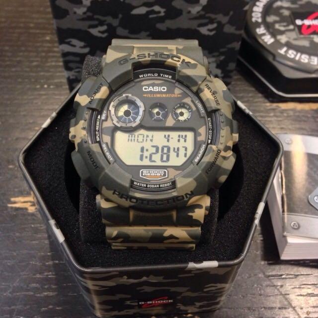 G SHOCK錶 迷彩系列 (急出售)