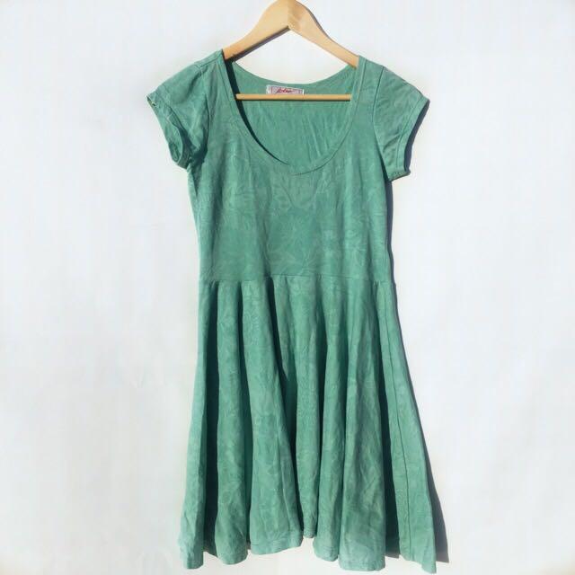 Greeny Dress