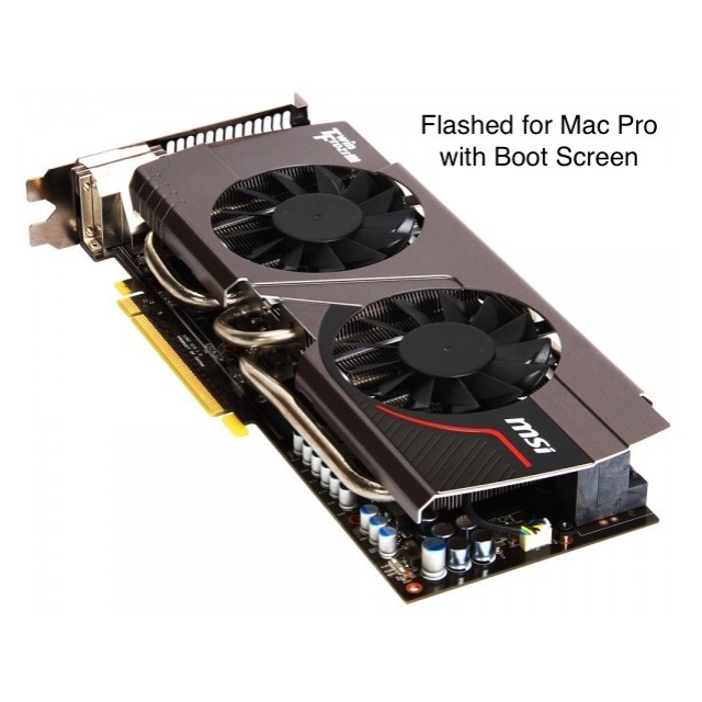 GTX 680 Mac Edition for Mac Pro with Boot Screen