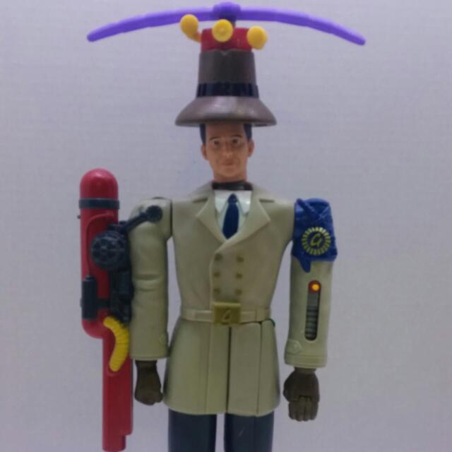 "Inspector Gadget McDonalds 12"" Toy - 1999"