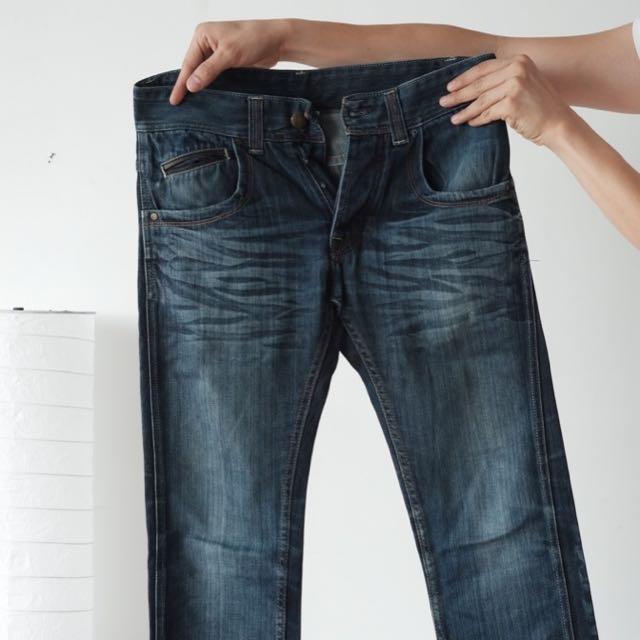 Jeans ZARA Original - Straight Slim