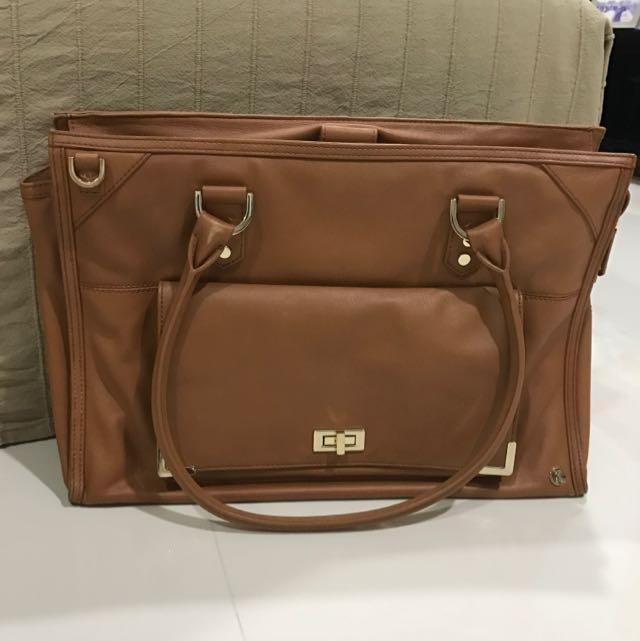 Kikki.k Multi Function Leather Work Bag