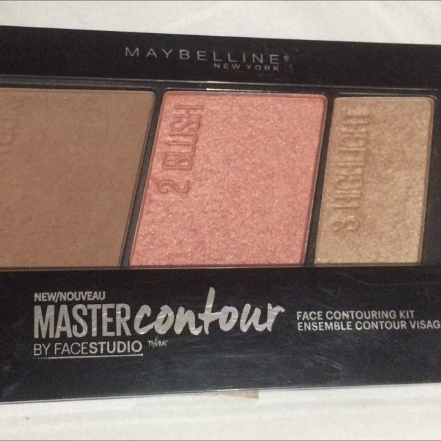 Maybelline face contouring kit