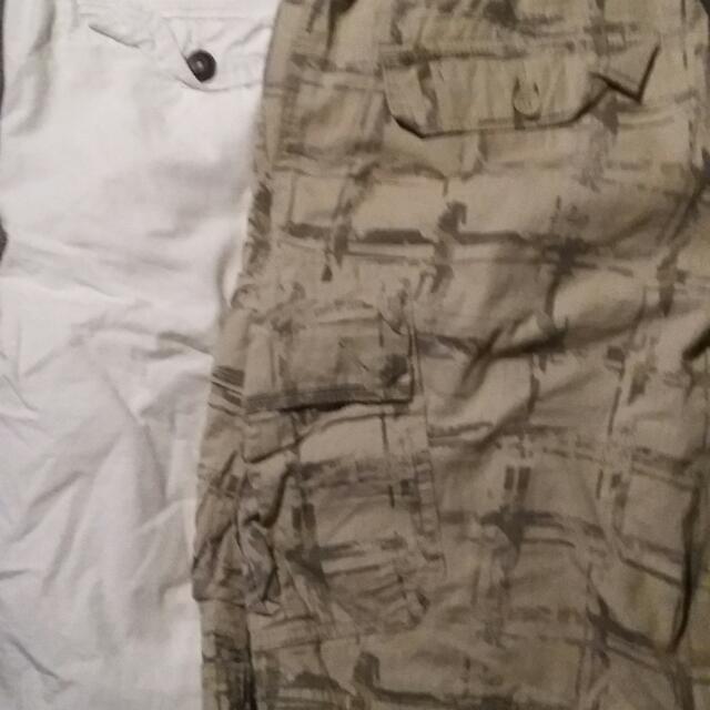 Men's Calvin Klein And American Eagle Shorts