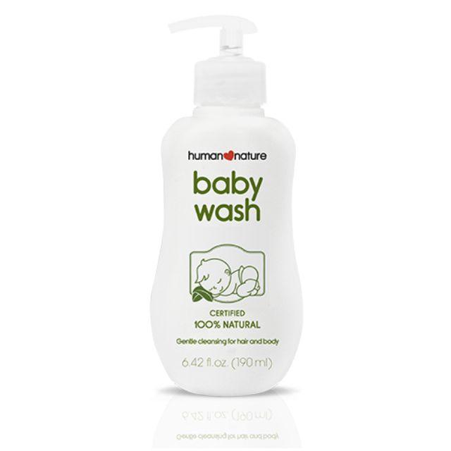 Natural Baby Wash