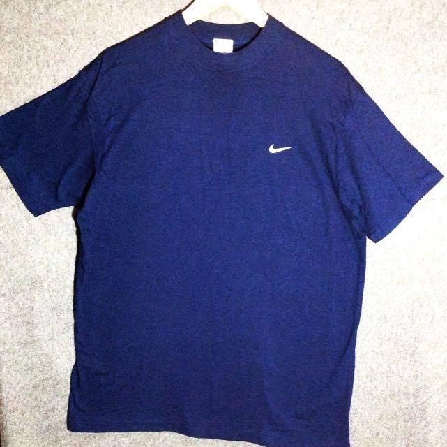 Nike 深藍短袖上衣  日本購入 保證正品