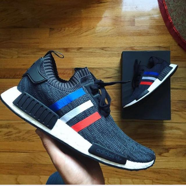 NMD PK Tricolor UK8