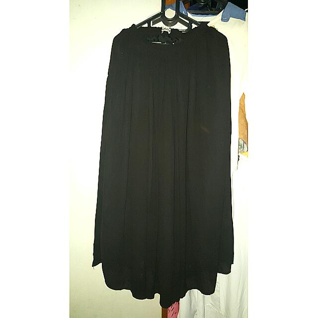 Nobby long skirt (Black)