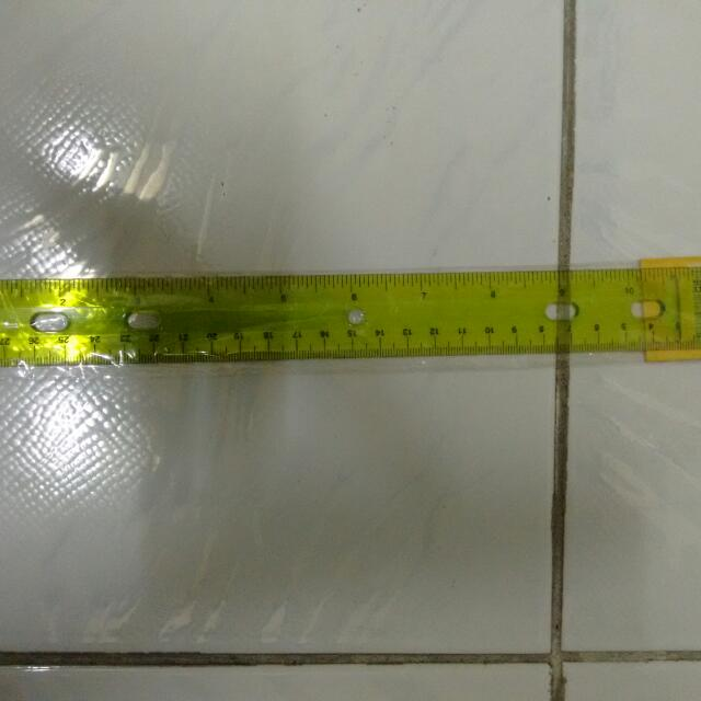 Plastic And Wooden Rulers