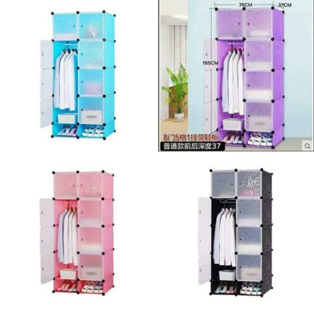 Plastic Cabinet Home Furniture On Carousell