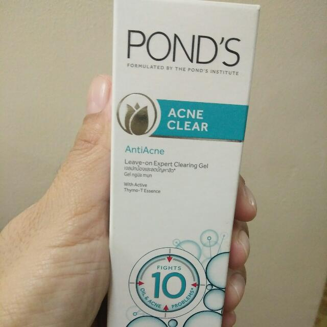 Pond's Acne Clear Leave-on Expert Clearing Gel
