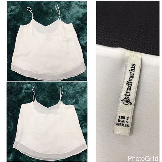 Preloved Tank Top Stradivarius