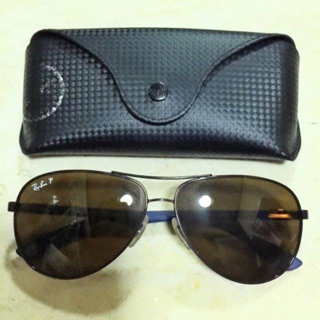 4e80b34354 Rayban Polarized Carbon fiber Sunglasses