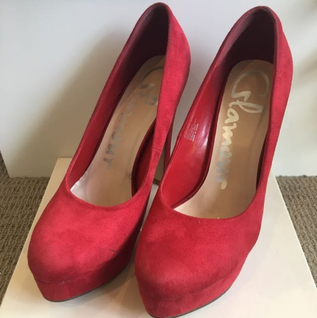 Red Glamour Heels