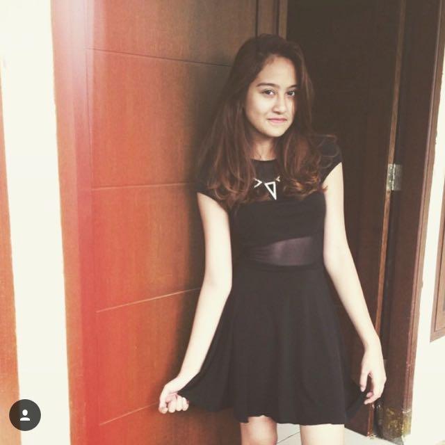 Reprice Black Dress