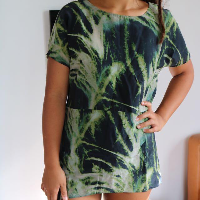 SABA Palm Print Shirt