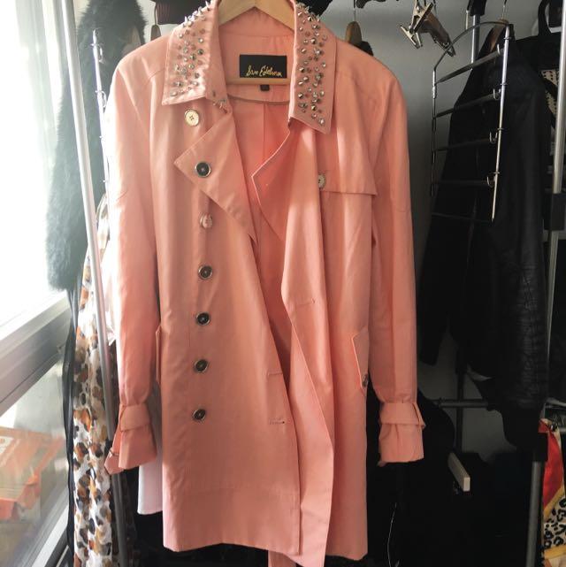 Sam Edelman Pink Trench Coat