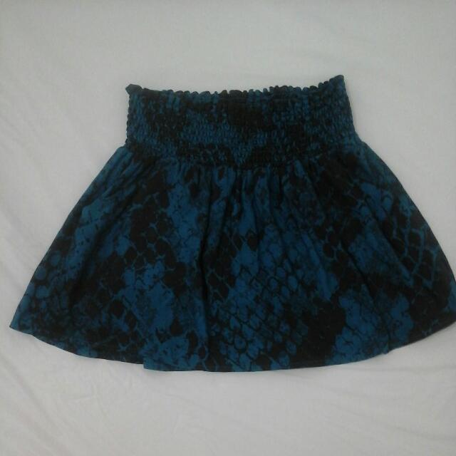 Skirt Animal print S-M