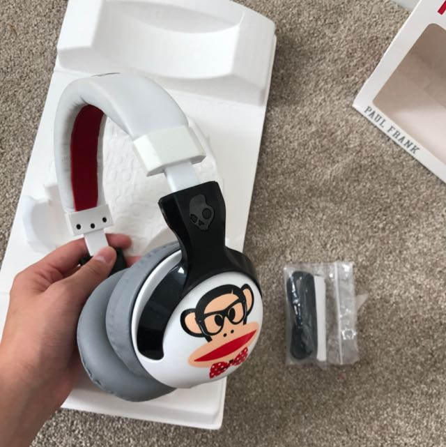 Skullcandy X Paul frank Earphones