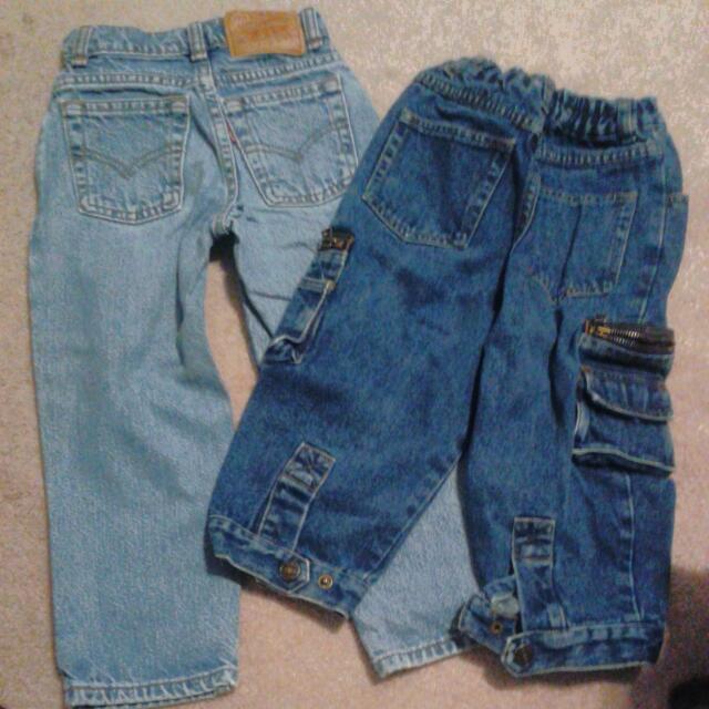 Small Boys Jeans (Levis Jeans Etc)