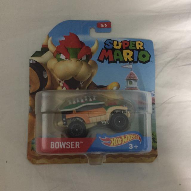 Super Mario Bowser Car