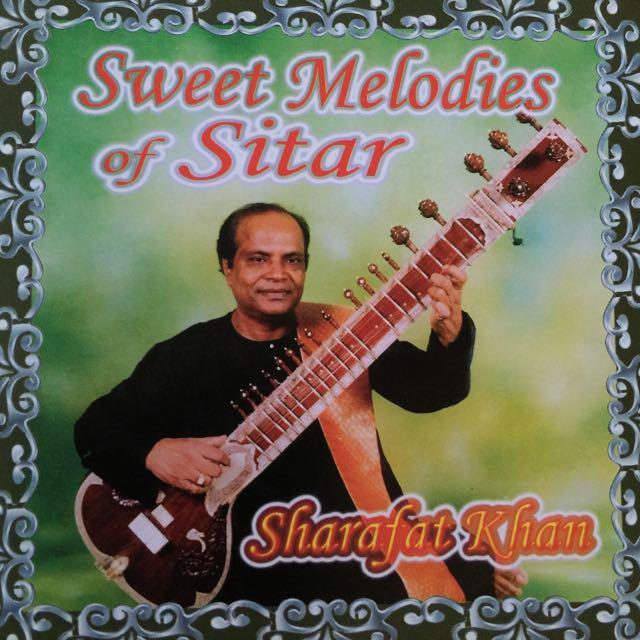 Sweet Melodies Of Sitar Instrumental Cd