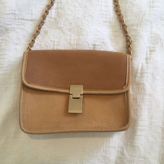 Tan Sportsgirl Shoulder Bag